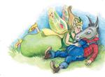 Sommernachtstraum, Shakespeare,Yvonne Hoppe-Engbring, Illustration&Gestaltung