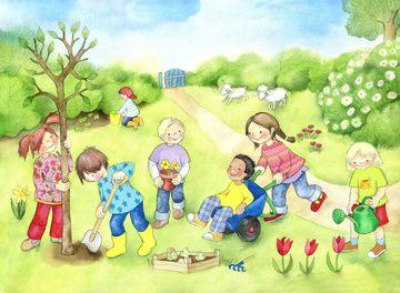http://www.hoppe-engbring-illustration.com/,Kinder,Garten,spielen,Naturerfahrung
